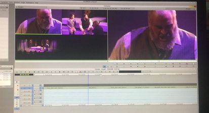 screengrab of Avid Media composer Titus project