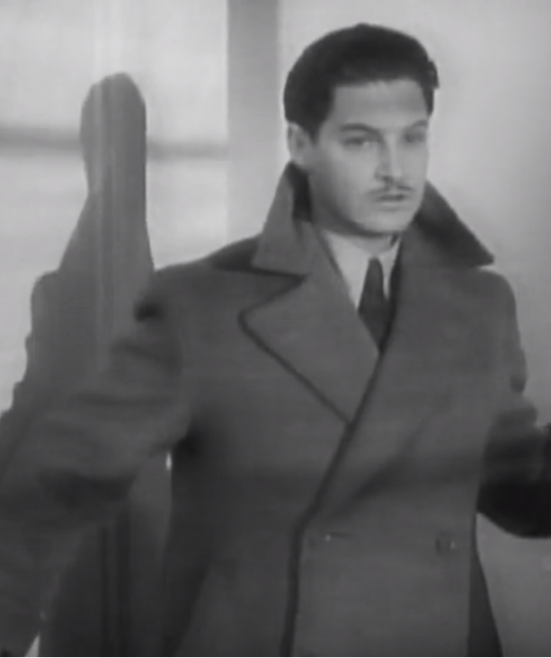 Richard Hannay in The 39 Steps (1935)